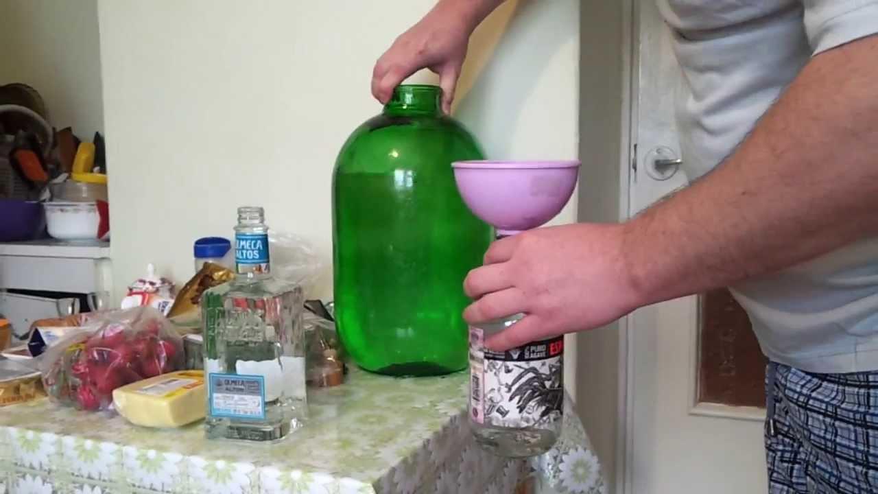 Как из спирта сделать водку?